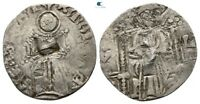 SAVOCA COINS MEDIEVAL SILVER COIN CHRIST COUNTERMARK 0 97G/1