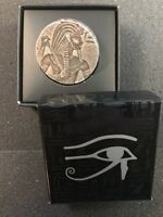 2016  5 OZ SILVER  CHAD EGYPTIAN RELIC SERIES KING TUT .999