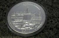 5 OUNCE SILVER 2011 GETTYSBURG AMERICA THE BEAUTIFUL .999 FINE SILVER