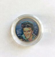 MINT 2002 US TENNESSEE STATE COLORIZED ELVIS 25TH ANNIVERASRY QUARTER