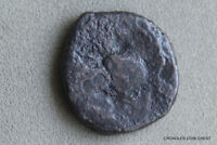 ROMAN BRONZE SMALL TYPE 18MM ACROSS NO DETAIL ANCIENT WORLD COIN BO3C