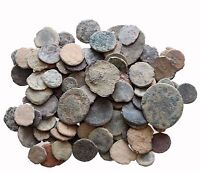 A  MIX LOT OF 8 AE ANCIENT & ROMAN COINS AND ALWAYS BONUS COINS ADDED