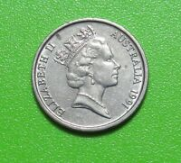 AUSTRALIA 1991 5 CENTS   FREE DOMESTIC SHIPPING