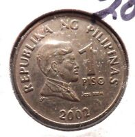 CIRCULATED 2002/1993 1 PISO PHILIPPINO COIN   51615