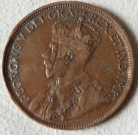 1918 CANADA ONE CENT  SMALL AMOUNT OF DAMAGE TO RIM .PLEASE VIEW PICS