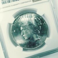PEACE DOLLAR 1922 NGC MS64 BLAST WHITE BEAUTY