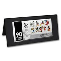 NIUE  2018  SILVER $1 PROOF COIN  5G SILVER MICKEY MOUSE 90TH ANNIVERSARY