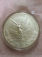 MEXICO   2012 1 KILO SILVER LIBERTAD IN CAPSULE   LOW MINTAGE OF ONLY 2 600