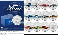 SOLD OUT STRAIGHT AWAY FORD AUSTRALIAN CLASSIC COLLECTION 50