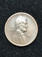 1911S LINCOLN CENT WHEAT CENT SEMI KEY DATE