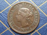 1876 CANADIAN LARGE PENNY QUEEN VICTORIA LOT 2