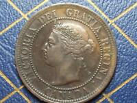 1891 CANADIAN LARGE PENNY QUEEN VICTORIA LOT 10