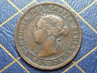 1893 CANADIAN LARGE PENNY QUEEN VICTORIA LOT 12
