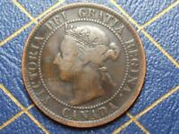 1895 CANADIAN LARGE PENNY QUEEN VICTORIA LOT 14