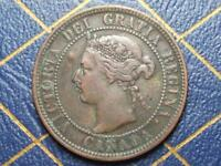 1898 CANADIAN LARGE PENNY QUEEN VICTORIA LOT 17