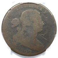 1799 S-189 R-2 PCGS AG DETAILS DRAPED BUST LARGE CENT COIN 1C