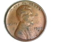 1929-D LINCOLN WHEAT CENT PENNY COIN A37