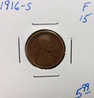 1916-S 1C BN LINCOLN CENT