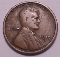 1919 S LINCOLN WHEAT CENT - NOT STOCK PHOTOS - SHIPS FREE -