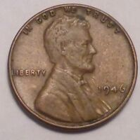 1946 P LINCOLN WHEAT CENT PENNY - NOT STOCK PHOTOS - BETTER GRADE SHIPS FREE