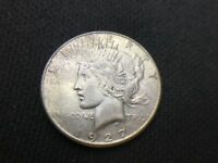 1927 S  PEACE  DOLLAR   VF EXTRA FINE      3 OR MORE SHIPS FREE   90SILVER   LOT 536