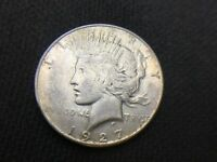 1927 S  PEACE  DOLLAR   VF EXTRA FINE      3 OR MORE SHIPS FREE   90SILVER   LOT 997