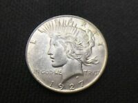 1927 S  PEACE  DOLLAR   VF EXTRA FINE      3 OR MORE SHIPS FREE   90SILVER   LOT 996