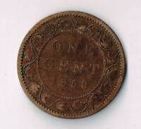 1859 9/8 CANADA LARGE CENT