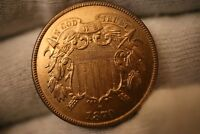 1870 TWO CENT PIECE  KEY DATE LOW MINTAGE IN  GEM BU PROOF  PF CONDITION
