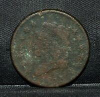 1813 CLASSIC HEAD LARGE CENT  VF  FINE DETAILS  1C  NOW COIN TRUSTED