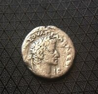 ANCIENT ROMAN COIN: TETRADRACHMA OF GALBA 68 69AD  SILVER/BI