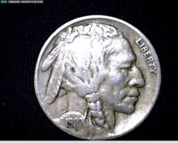 1927     BUFFALO NICKEL   J124