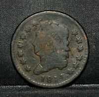 1814 CLASSIC HEAD LARGE CENT  VG  GOOD DETAILS  1C  NOW COIN TRUSTED