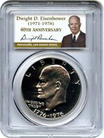 1976-S $1 CLAD TYPE 2 DC PROOF IKE DOLLAR