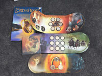 NEW ZEALAND   2003  LORD OF THE RINGS COIN SET SERIES
