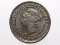 1901 CANADIAN LARGE PENNY QUEEN VICTORIA LOT B1