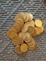 ONE ROLL  44 COINS  83.5  SILVER ONE SWISS FRANC COINS 1960 1964  SWITZERLAND