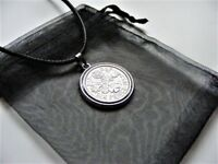 ELIZABETH II LUCKY CHARM SIXPENCE NECKLACE WITH GIFT BAG 1953   1967 CHOOSE DATE