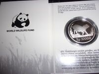 1987. WWF SILVER COIN INDONESIA 10000 RUPIAH PROOF