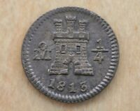 1813 1/4 REAL MEXICO