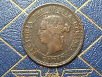 1886 CANADIAN LARGE PENNY QUEEN VICTORIA LOT B10