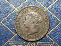 1898 CANADIAN LARGE PENNY QUEEN VICTORIA LOT B25
