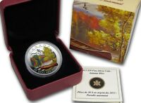 2013 CANADA $20 AUTUMN BLISS 1OZ SILVER PRF  NO REASONABLE OFFER WILL BE REFUSED