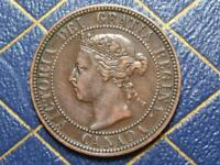 1901 CANADIAN LARGE PENNY QUEEN VICTORIA LOT B8
