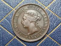 1901 CANADIAN LARGE PENNY QUEEN VICTORIA LOT B31