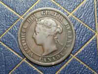 1888 CANADIAN LARGE PENNY QUEEN VICTORIA LOT B32