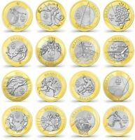 BRAZIL SET OF 16 COINS 1 REAL 2016 OLYMPICS 2016 IN RIO UNC