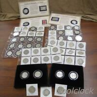 FRANKLIN SILVER HALF DOLLAR COIN COLLECTION LOT 60  COINS