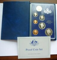 1987 AUSTRALIA   OFFICIAL PROOF SET  7    AUSTRALIAN WILDLIF
