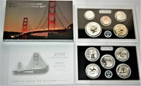 2018 SAN FRANCISCO MINT SILVER REVERSE PROOF 10 COIN SET